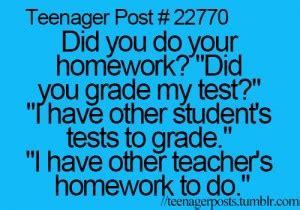 Homework motivation for teens